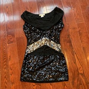 Black Sequence dress (New Years dress)